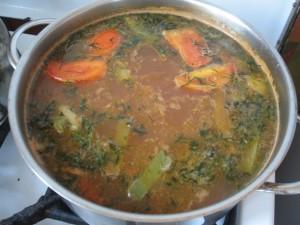 Как приготовить суп с гречкой
