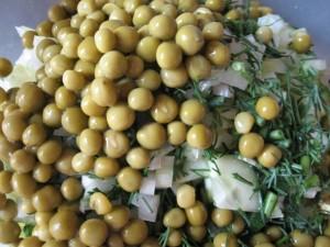 Оливье с сельдереем