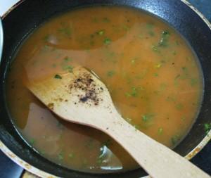 Морковный соус