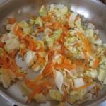 постное овощное рагу с пшеном