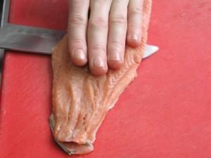 Террин из лосося