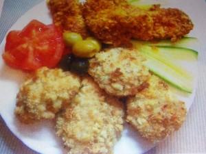 Куриное филе в чипсах