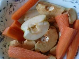Запеченные фрукты и овощи